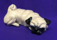 Eve Pearce Hand-Made Model - Pug Small Curled Asleep